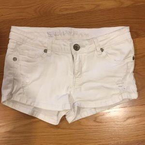 Women's/girls white shorts!!!!